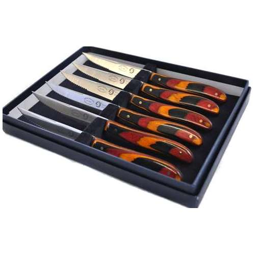 'Kansas' style Steak Knives