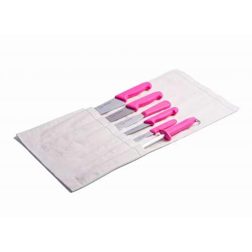 6 Piece Chef Set Pink