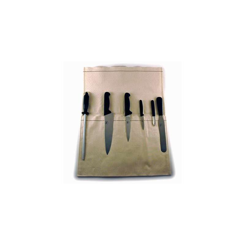 6 Piece Knife Set with Wallet