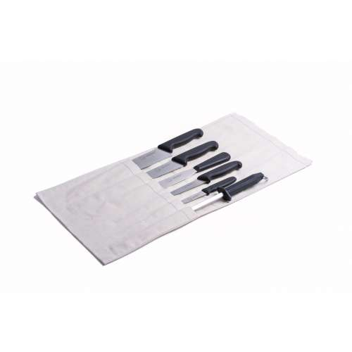 6 Piece Chef Set Black